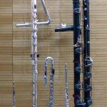 Flöte - Kontrabass - Bass - Alt - Subcontra